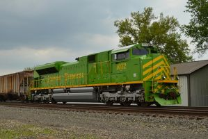 Illinois Terminal Heritage 5-18-13 by the-railblazer
