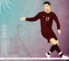 Cristiano Ronaldo by alexflowers