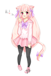::GIFT:: KittenHime by pastelkiitty