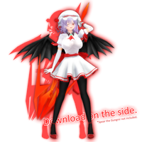 Adult Remilia Scarlet [DL] by PachiPachy