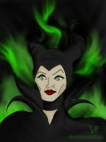 Maleficent by th55th