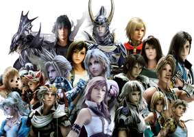 Final Fantasy Heroes. by Redchampiontrainer01