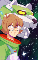 Pidge by SpiralSilhouettes