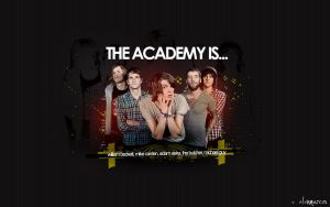 The Academy Is...  Wallpaper by alanmarcos