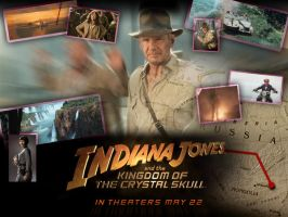 Indiana Jones4 Wallpaper by marty-mclfy