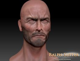 Clint 3D Model Color Test 2 by FoxHound1984