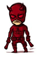 Little : Daredevil !! by ChickenzPunk