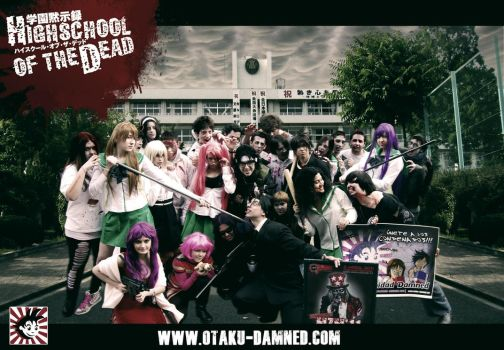 Otaku Damned's cosplay of HOTD by Topper-Damned