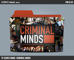 Criminal Minds Folder ICON by kasbandi