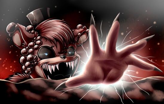 Twisted Freddy (with speedpaint) by Fluffy-Ravens