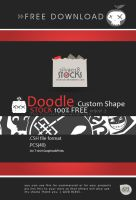 Doodle Custom Shapes by silva018