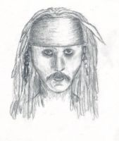 Jack Sparrow by sognidolci