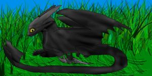 Toothless's family by Cute-NF-Productions