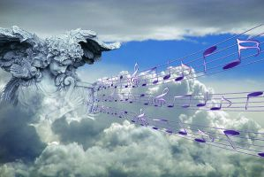 Heavenly music by solkee