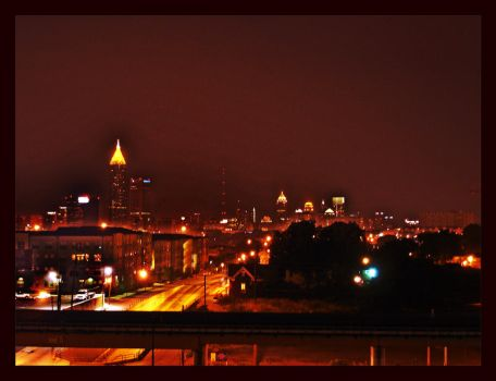 A view from Cabbagetown by HottToddy