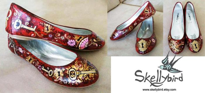 Steampunk Slippers by Meggyb