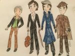 Sherlock stetches by Paleogirl47