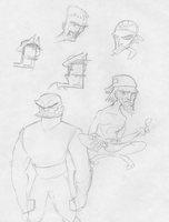 Designs for an Animation by MarkHartman