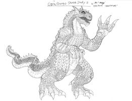 Ogra,Gorgo SKetch Study 2 by RenDragonClaw
