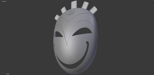 Mask of Chaos by ClothBender