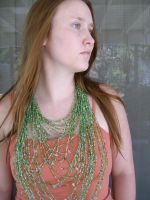 green necklace 2 by PhoeebStock