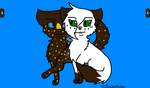 Warrior Cat Commission!! by BriarRoseWinterRose