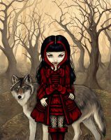 Little Red Riding ... by Elisa-Bluepaw