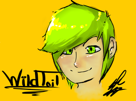 .:Human WildTail:. by xXWildTailXx