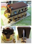 Catbus Business Card Holder by egyptianruin