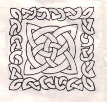 Celtic Knot and Border by tk023