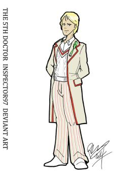 Peter Davison: The Fifth Doctor by Inspector97