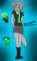 Anthro Olivewhisker Ref eue by goatguts