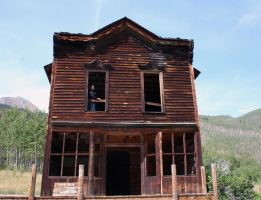 Ashcroft Ghost Town 30 by Falln-Stock