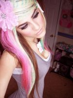Colorful Scene Hair by Misskylakandy