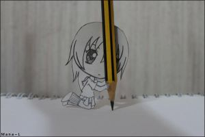 Me Drawing by Mana-L