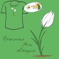 Woot Shirt - Stupid Crocuses by fablefire