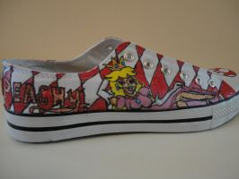 Super Mario Shoes 'peachy' by missMaxx