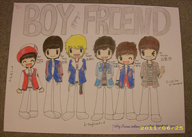 Boyfriend Kpop Poster by Endless-Inspiration