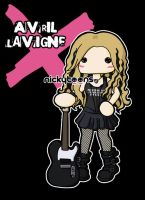 Avril Lavigne Maxim 2004 by NickyToons