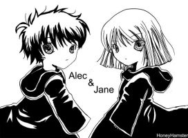 Twilight Alec and Jane by HoneyHamster