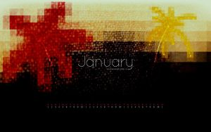 January 2011 Free Wallpaper by ZachWoomer