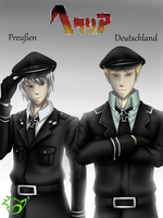 .: Hetalia :. Prussia ~ Germany by PinselTheExperiment