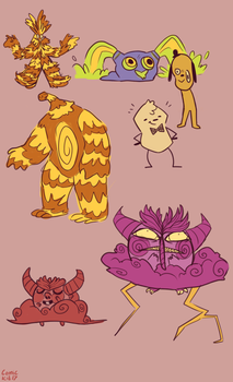 creatures by Comickit