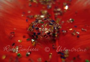 Red Confetti by LT-Arts