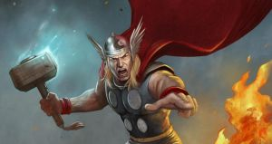 Thor by adam-brown