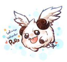 Winter Wonder Poro by sueyen79417
