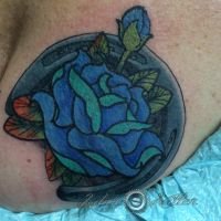 Blue Rose cover up by adammdesigns