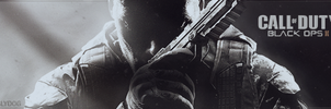 Call of Duty Black Ops II Signature Banner by Slydog0905