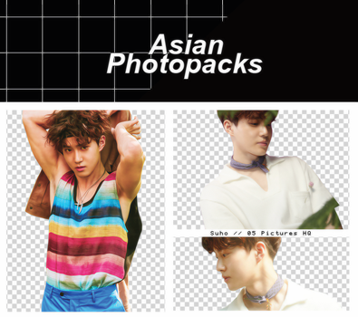 Pack Png 091 // Suho (EXO) (THE WAR). by xAsianPhotopacks