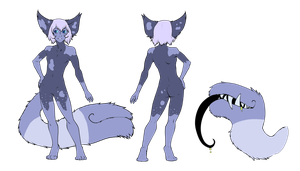 Blueberry Tailmouth (CLOSED) by Neon-Spots-Adopts